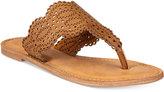 XOXO Roxana Flat Thong Sandals Women's Shoes