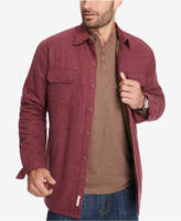 Weatherproof Vintage Men's Fleece-Lined Shirt Jacket, Created for Macy's