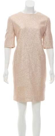 Lanvin Metallic Silk Dress