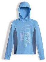 The North Face Reactor Hooded Jersey Tee, Blue, Size XXS-L