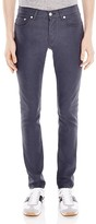 Sandro Pixies Slim Fit Jeans in Grey