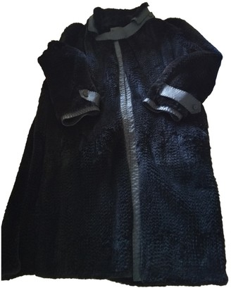 Fendi Black Mink Coat for Women