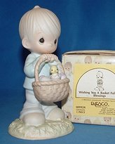 """Precious Moments Wishing You a Basket Full of Blessings"""""""