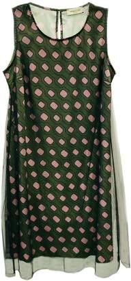 Antonello Serio Green Graphic Dress