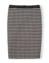 Boden Rose Bow Skirt