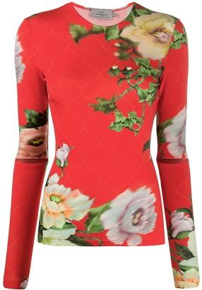 Preen by Thornton Bregazzi Xandria floral print top
