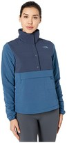 The North Face Mountain Sweatshirt Pullover Anorak 3.0 (Urban Navy/Blue Wing Teal) Women's Clothing