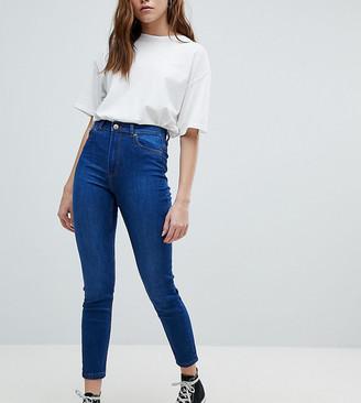 Bershka skinny high waist jean-Blue