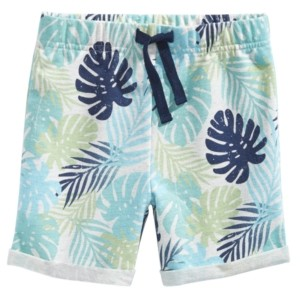 First Impressions Baby Boys Tropical-Print Shorts, Created for Macy's
