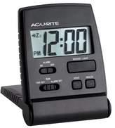 Acu-Rite AcuRite 47391 LCD Travel Alarm Clock