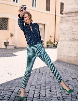 Kensington Turn-Up Trousers