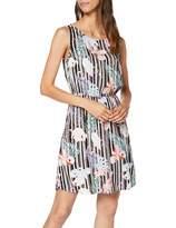 Tom Tailor Women's Bedrucktes Kleid Dress