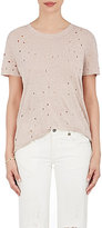 IRO Women's Distressed Linen T-Shirt