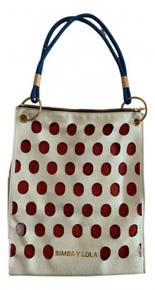 Bimba Y Lola White Leather Handbags