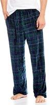 Roundtree & Yorke Plaid Fleece Pajama Pants