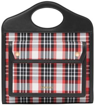 Burberry Mini Tartan Pocket Bag