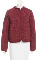 See by Chloe Matelassé Collarless Jacket