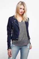 Blank Hello Moto Denim Jacket