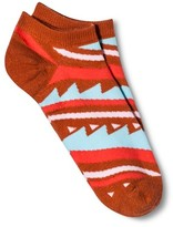Xhilaration Women's Low Cut Fashion Socks Orange Sorbet