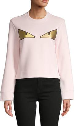 Fendi Graphic Crewneck Sweatshirt
