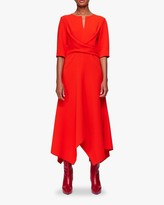 Schumacher Dorothee Sophisticated Perfection Draped Dress