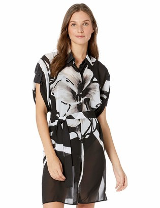 Gottex Women's Shirtdress Swimsuit Cover Up
