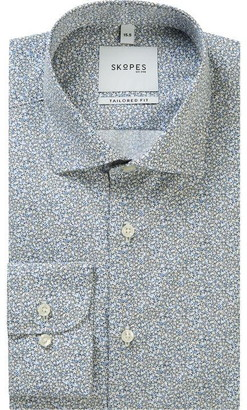 Skopes Floral Premium Formal Shirt