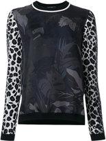 Salvatore Ferragamo printed blouse - women - Virgin Wool/Silk - S
