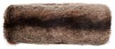 Joules Liza Faux Fur Headband, Brown