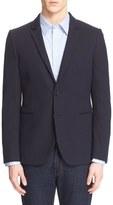 Paul Smith Men's Extra Trim Knit Cotton Blazer