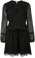 Joie lace trim dress - women - Silk/Polyester - S