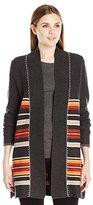 Pendleton Women's Park Stripe Cardigan Sweater