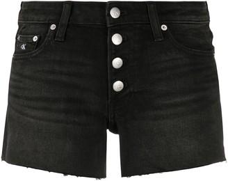 Calvin Klein Jeans Mini Denim Shorts