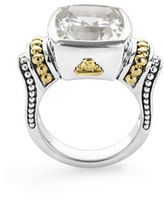 Lagos 14mm Caviar Color Faceted Caviar Ring, Size 7