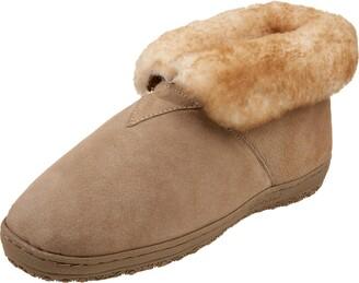 Old Friend Men's Sheepskin Bootee Slipper