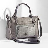 Simply Vera Vera Wang Capri Leather Satchel