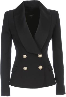 Balmain Jacket Satin W/lapel