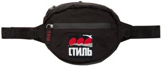 Heron Preston Black Style Dots Camera Bag