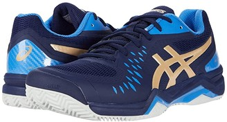Asics Gel-Challenger 12 Clay (Peacoat/Champagne) Men's Tennis Shoes