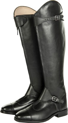 HKM Riding Boots Polo Long/Soft Leather Narrow Width Black Black Size:42 (EU)