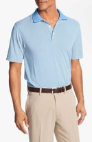 Cutter & Buck Men's Big & Tall 'Trevor' Drytec Moisture Wicking Golf Polo
