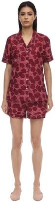 Derek Rose Ledbury Batiste Short Cotton Pajama Set