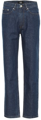 A.P.C. Martin high-rise straight jeans