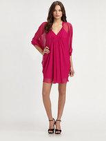 Diane von Furstenberg Fleurette Silk Chiffon Dress