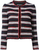 Moschino knit boxy jacket