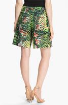 Kenzo Forest Print Poplin Bermuda Shorts