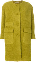Peter Jensen fitted button-down coat