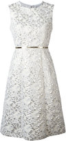 Max Mara Aurelia jacquard dress - women - Silk/Cotton/Acrylic/Other fibres - 42