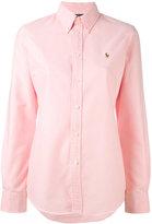 Polo Ralph Lauren logo embroidered shirt - women - Cotton - M
