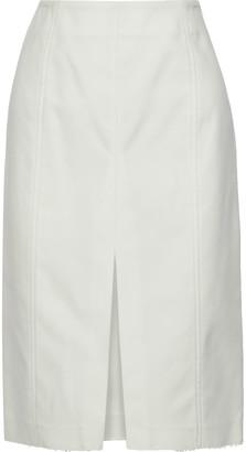 Proenza Schouler Cotton-blend Twill Pencil Skirt